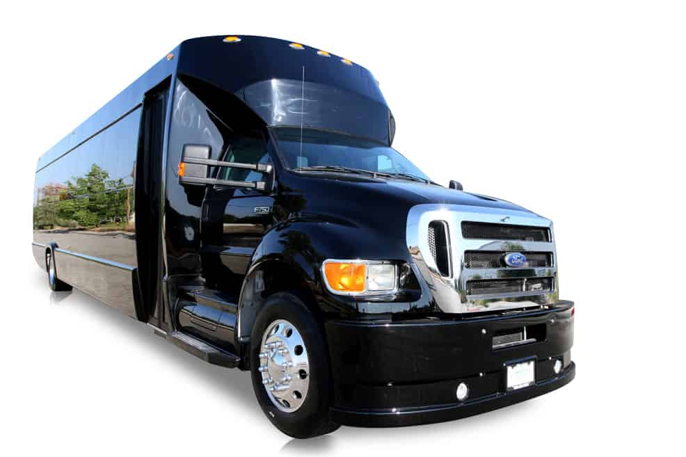 Houston Party Bus Lounge Mega 50 Passenger Exterior