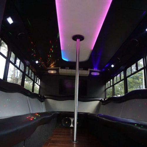 Houston Party Bus Lounge S 20 Passenger interior