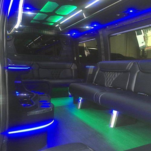 Houston Party Bus Lounge Sprinter