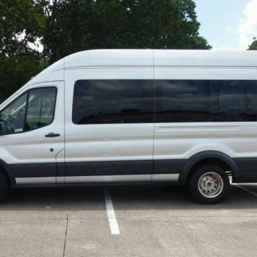 Houston-Party-Bus Lounge-Transit-Exterior
