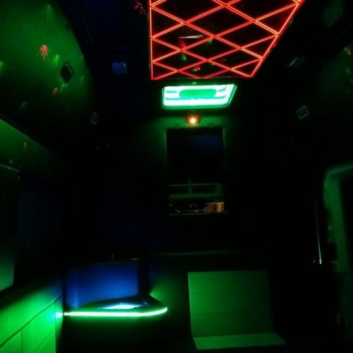 Houston-Party-Bus Lounge-Transit-Glow