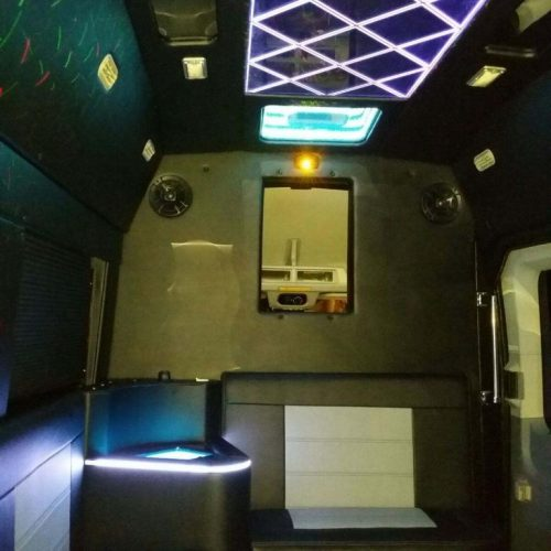 Houston-Party-Bus Lounge-Transit-Rear