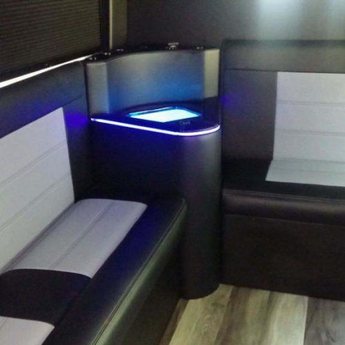 Houston-Party-Bus Lounge-Transit-Seats